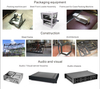 Custom sheet metal working metal fabrication parts