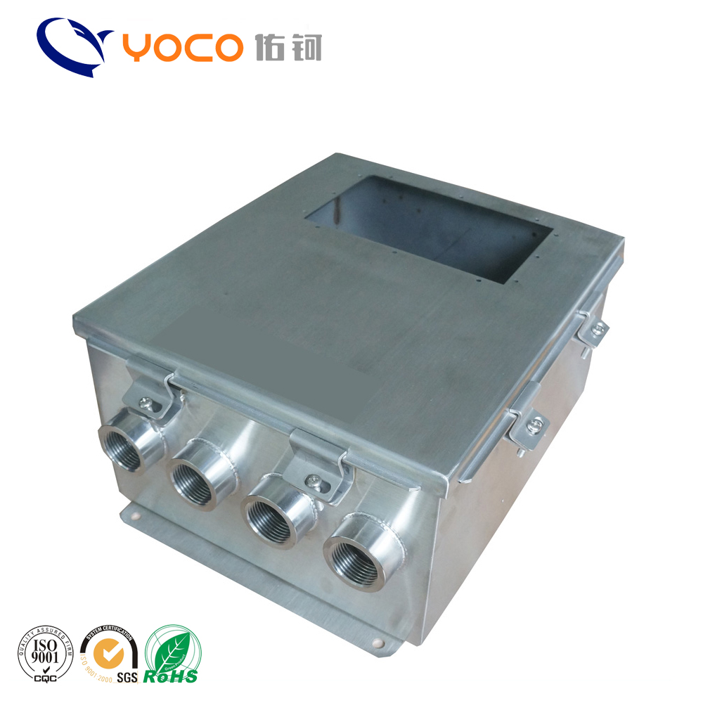 China factory custom made stainless steel 304 wall mount IP65 weatherproof enclosure