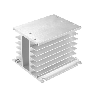 Custom made precision aluminum heat sink enclosure
