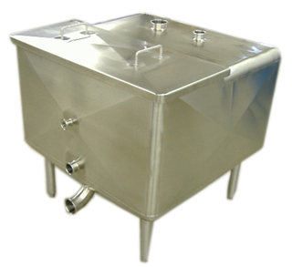 Hot sale custom made 316 stainless steel storage tank