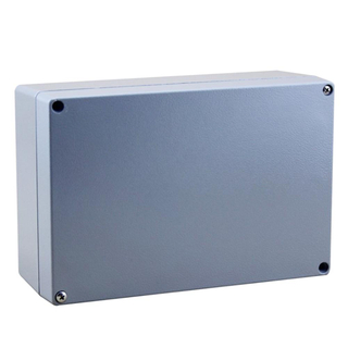 Factory made sheet metal work water proof enclosure