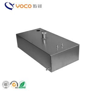ISO9001 certificate custom made stainless steel oil storage tank