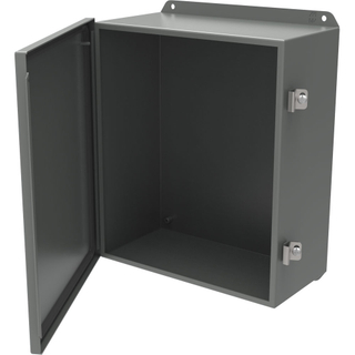 Factory made sheet metal work enclosure box