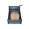 Outdoor Smart Safety Stainless Metal Post Residential Home Packages Parcel Letter Mail Drop Delivery Box