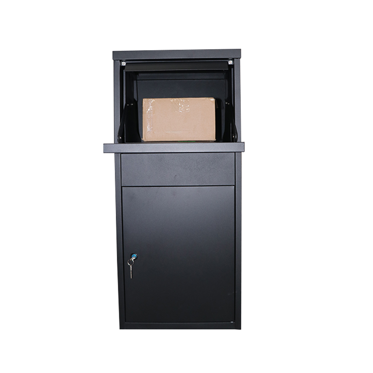 China Manufacturer Large Space Outdoor Waterproof Anti-theft Free Standing Parcel Box