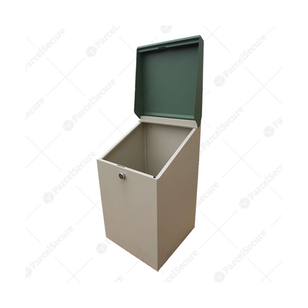 steel mailbox outdoor with top quality post box vintage