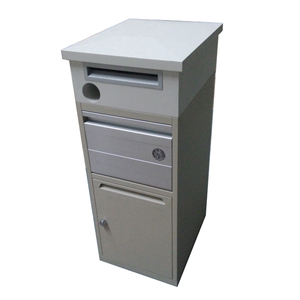 stainless steel wall mounted metal powder coated mailbox post box