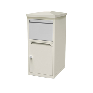 mailbox post double built in adjustable stylish replacement letter box for large parcels