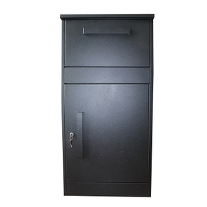 China Manufacturer Outdoor Large Space Anti-Theft Waterproof Free Standing Parcel Box